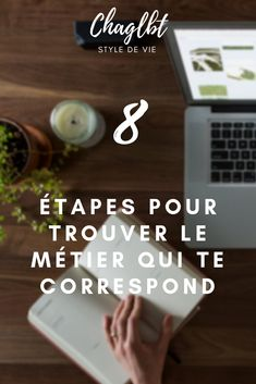 Construire un projet professionnel solide en 8 étapes · Charlotte Organization Bullet Journal, Working Mums, Business Education, Data Visualization, Positive Attitude, Page Design, Better Life, Happy Life, Positivity