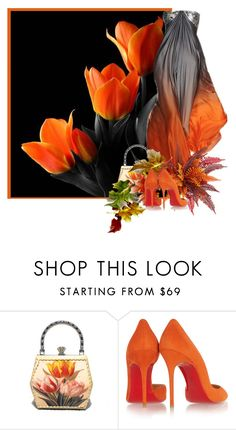 """Tulip Couture"" by flowerchild805 ❤ liked on Polyvore featuring Christian Louboutin"