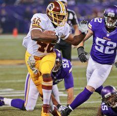 Washington Redskins running back Alfred Morris