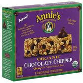 Annie's Homegrown Chocolate Chipper Chewy Yet Crispy Granola Bars: Organic Whole grain No high fructose corn syrup No artificial ingredients or preservatives