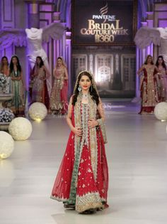 Pakistani bridal couture week, bridal,  Pakistani wedding dress, pakistani wedding, Pakistani fashion