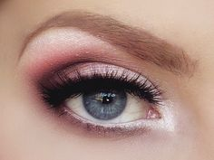 Gorgeous eye shadow .