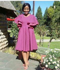 Beautiful Shweshwe Dresses 2019 Shweshwe Dresses 2019 - This Beautiful Shweshwe Dresses 2019 photos was upload on February, 29 2020 by admin. Here latest Shweshwe Dresses 2019 photos. South African Dresses, African Dresses For Women, African Print Dresses, African Print Fashion, African Attire, African Wear, African Fashion Dresses, African Outfits, Africa Fashion