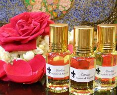 Pure Jasmine and Rose Oil Absolute Perfume - All Natural Aromatherapy Essential Oils ~ Rose and Jasmine Perfume ~ Bridal Perfume Image by Naomi King All Best Skin Care Regimen, Top Skin Care Products, Skin Care Tips, Skin Regimen, Beauty Products, Essential Oils For Hair, Rose Essential Oil, Musk Oil, Perfume Lady Million