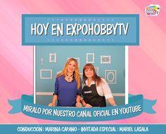 HOY en EXPOHOBBY TV: Mariel Lasala nos enseña a realizar un hermoso kit de cocina! #RatoncitosEnLaCocina #Muñequeria #DecoraTuCocina #Arte #Manualidades #Miralo #Youtube #ExpohobbyTv Mariel Lasala