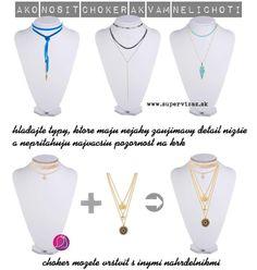 Ako vybrať vhodnú dĺžku náhrdelníka - Supervizáž Shape, Polyvore, Fashion, Moda, Fashion Styles, Fashion Illustrations