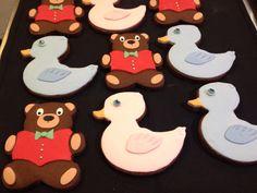 Chocolate ducks and Teddy's