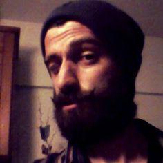 March 2015 ... I'm back with a handlebar moustache !!! #trends #style #full_tick_beard #details #handlebar #moustache
