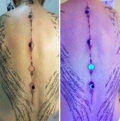 Ultra Violet Tattoo | Bored Panda