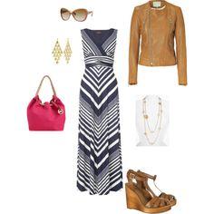 maxi dress w/ moto