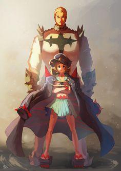 Mako and Gamagoori, Kill la Kill