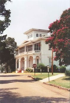 1860 Boddie Plantation house, now main building of Tougaloo College, Jackson Mississippi