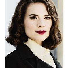 "Ally Margaret ""Peggy"" Carter - hairstyle"