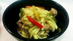Yakisoba, Oriental, Meat, Chicken, Food, Sesame Oil, Carrot, Sauces, Salads