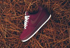 The Nike Air Force 1 Low Night Maroon Is A Great Look For The Cold Season