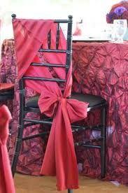 Resultado de imagen para chair sashes styles