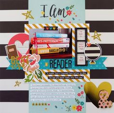 DT work for My Creative Scrapbook using the gorgeous March Main Kit which features Simple Stories new Paper Bag Scrapbook, Love Scrapbook, Recipe Scrapbook, Scrapbook Journal, Scrapbook Sketches, Scrapbook Page Layouts, Scrapbook Supplies, Scrapbook Pages, Scrapbooking Ideas