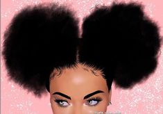 ~ ~ (For more pins like this) Pretty Black Girls, Black Love Art, Black Girl Art, Black Girls Rock, Black Girl Magic, Art Girl, Natural Hair Art, Natural Hair Styles, Drawings Of Black Girls