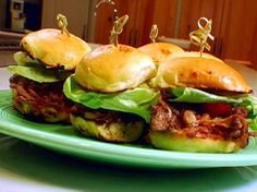 Sloppy Joe Sliders recipe from The Best Thing I Ever Made via Food Network