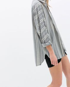 Image 5 of STRIPED LINEN SHIRT from Zara