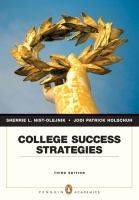 College Success Strategies by Sherrie L. Nist-Olejnik and Jodi Patrick Holschuh #studytips