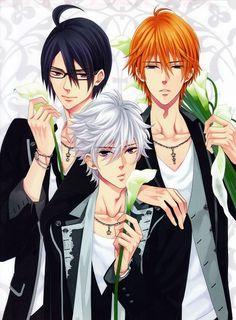 Tags: Anime, Udajo, IDEA FACTORY, BROTHERS CONFLICT, Asahina Azusa, Asahina Natsume, Asahina Tsubaki