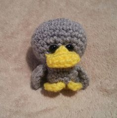 Free Pattern: A Lil Ugly – a pocket size duck | Hookers Don't Bite