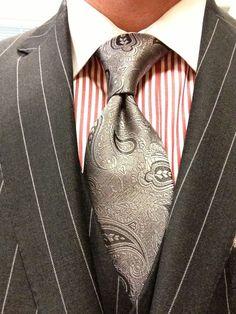 Sam Hober Tie: Paisley Silk Tie http://www.samhober.com/paisley-silk-ties/