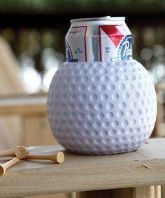 Love this Golf Ball Drink Can Sleeve on #zulily! #zulilyfinds