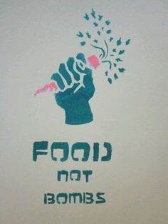 REAL food not bombs!!!