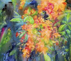 Flame Azalea by Wesley Waugh