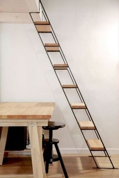 loft stairs with a couple enclosed ones for wine?our loft stairs with a couple enclosed ones for wine? Attic Stairs, Basement Stairs, House Stairs, Open Basement, Attic Floor, Attic House, Basement Ideas, Attic Renovation, Attic Remodel