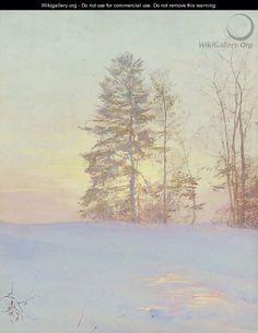 Spruce Tree - Walter Launt Palmer