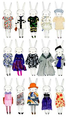 Dómina Aurea: Fifi Lapin: The most stylish bunny in town