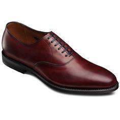 Carlyle Plain-toe Oxfords, 8836 Oxblood Calf
