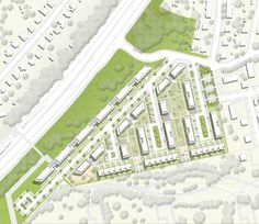 Urban Design Plan, Site Plans, Master Plan, Urban Planning, Planer, Uni, Design Projects, Landscape Design, City Photo