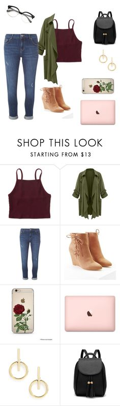 """""""Me and my Boyfriend.. Jeans"""" by teal100 ❤ liked on Polyvore featuring Aéropostale, Dorothy Perkins, Forever 21 and Sole Society"""