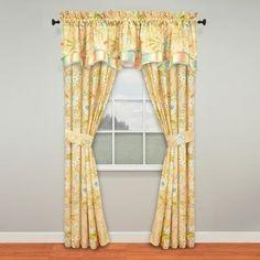 Waverly Cape Nature/Floral Blackout Curtain Panels