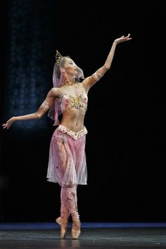 Ballerina Miho Ogimoto at the La Bayadere Ballet in Three Acts