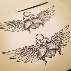 Image result for beetle egyptian tattoo