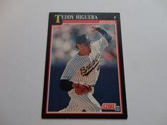 Teddy Higuera 1991 Score Baseball Cards