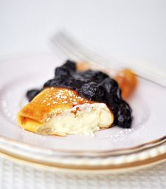 There is nothing like having my grandmother's homemade blintz. Love that classic Russian recipe!