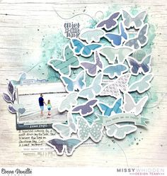 Cocoa Vanilla Studio DT Project - multiple collections focusing on monochromatic blues; Bohemian Dream, Life is Beautiful, Wild at Heart, Make a Wish, You Rock, Hello Lovely; Moths Background cut file by Paige Evans; Shimmerz Paints