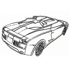 Fired Up Car Coloring Bentley