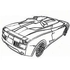 Rugged Lamborghini Car