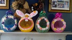 Homemade Easter Basket Eggs made by me! Complete instructions included.