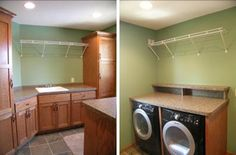 cabinet formation for laundry room redo