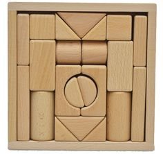 handmade wooden chrilrden's Building Blocks Tangram by HOMEbyTAKE