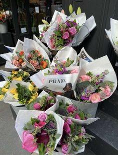 My Flower, Beautiful Flowers, Flower Wrap, Image Deco, Flower Aesthetic, Planting Flowers, Flower Arrangements, Plants, Aesthetics