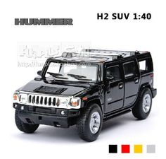 Exquisite SUV HUMMER H2 1:40 hochwertig aus Metall